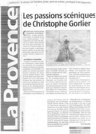 Presse ComÇdie Ballet-CAT.